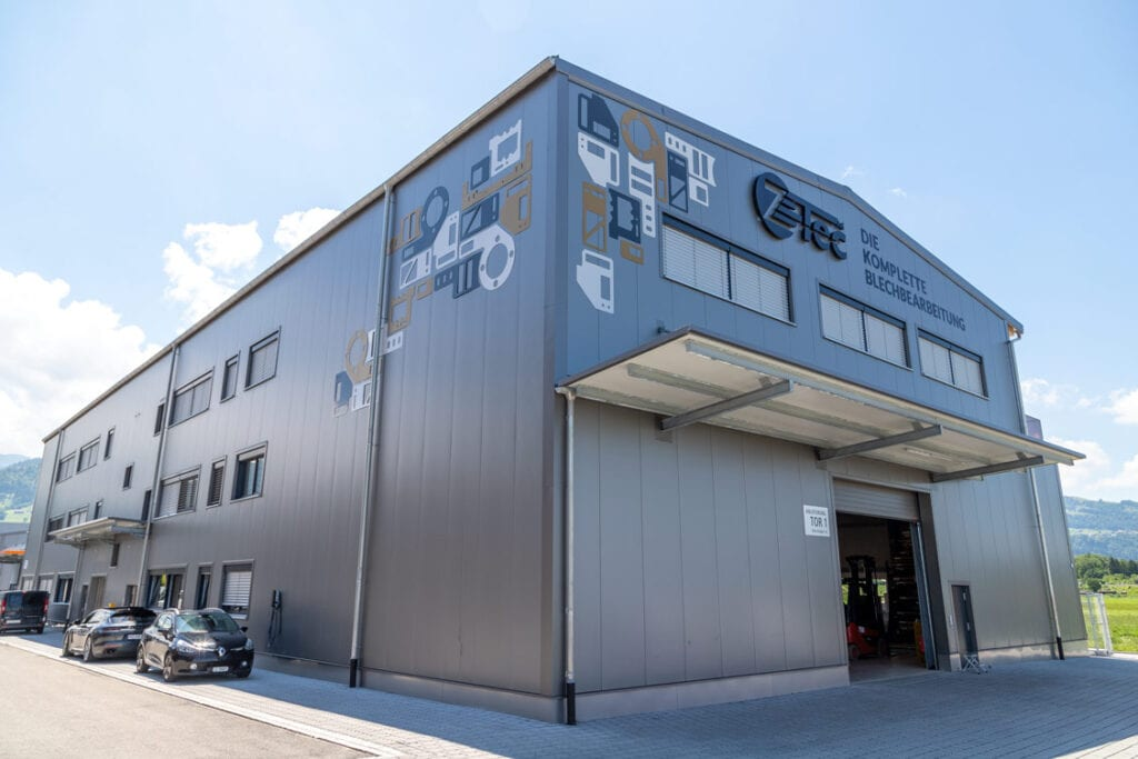 Z-Tec Metallbearbeitung AG Neubau in Wangen