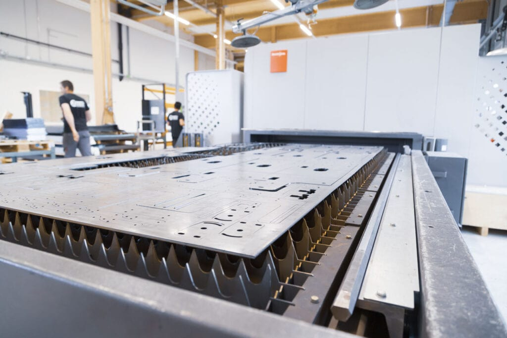 Z-Tec Metallbearbeitung AG Laserschneiden